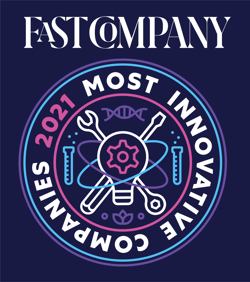 Fast Company 2021 Most Innovative Companies Standard Logo
